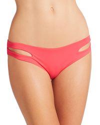 L*Space Red Estella Bikini Bottom