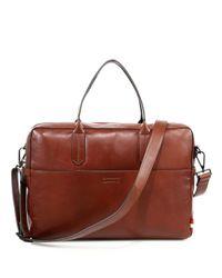 Uri Minkoff | Brown Fulton Briefcase for Men | Lyst