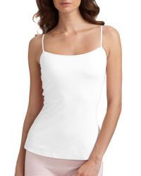 Cosabella - White Women's Talco Long Camisole - Sand - Size Xl - Lyst