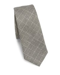 Saks Fifth Avenue | Black Modern Glenn Plaid Tie for Men | Lyst