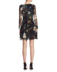 Adam Lippes - Black Silk Mini Dress - Lyst