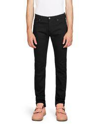Acne Black North Stay Dark Jeans for men