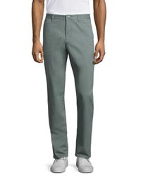 Bonobos - Gray Washed Stretch Cotton Pants for Men - Lyst