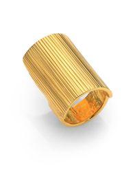 Chloé - Metallic Giselle Long Ring - Lyst
