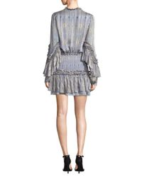 Alexis Multicolor Leannie Printed Ruffle Dress