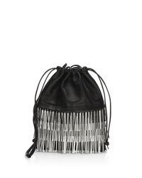 Alexander Wang - Black Ryan Mini Bucket Bag - Lyst
