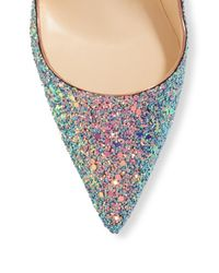 Christian Louboutin - Multicolor Classique So Kate 120 Glitter Dragonfly Pumps - Lyst