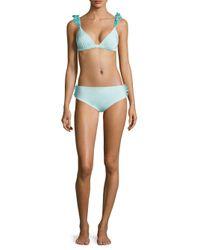 Moré Noir Blue Women's Wings Bikini Bottom - Mint