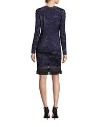 Elie Tahari - Blue Camden Lace Dress - Lyst