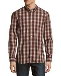 Victorinox - Multicolor Cotton-blend Plaid Shirt for Men - Lyst