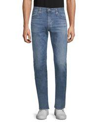 AG Jeans Blue Stretch Cotton Slim-fit Jeans for men