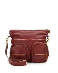 Liebeskind - Red Anny Safari Shoulder Bag - Lyst