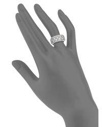 Effy - Metallic 1.55 Tcw Diamond & 14k White Gold Ring - Lyst
