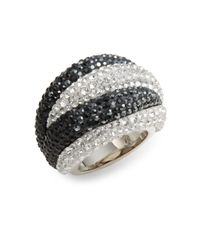 Swarovski | Metallic Appolon Crystal Dome Ring | Lyst