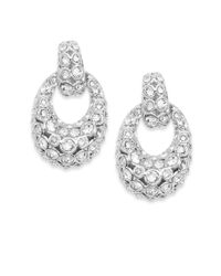 Swarovski | Metallic Rarely Crystal Drop Earrings | Lyst