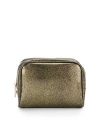 Deux Lux | Metallic Mercury Glitter Jelly Cosmetic Bag | Lyst