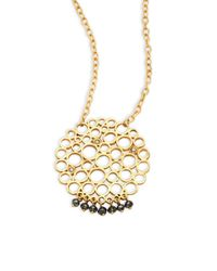 Gurhan | Metallic 24k Yellow Gold Pendant Necklace | Lyst