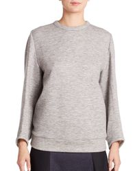 Derek Lam | Gray Kimono-sleeve Sweatshirt | Lyst