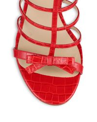 Michael Kors Red Sandals