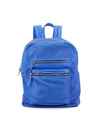Ash - Multicolor Danica Perforated Leather Backpack - Lyst