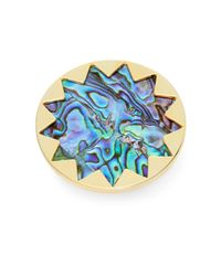 House of Harlow 1960 | Blue Core Abalone Shell Starburst Ring | Lyst