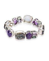 Stephen Dweck | Metallic Horizontal Oval Sterling Silver Bracelet | Lyst