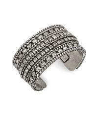 DANNIJO | Metallic Soni Swarovski Crystal Cuff Bracelet | Lyst