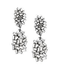 DANNIJO - Metallic Mayfield Earrings - Lyst