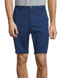 Michael Kors | Blue Slim-fit Cotton-blend Shorts for Men | Lyst