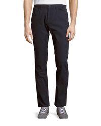 Perry Ellis | Blue Slim-fit Five-pocket Pants for Men | Lyst