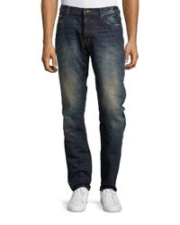 PRPS | Blue Salute Low-rise Straight-leg Jeans for Men | Lyst