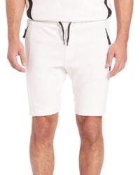 Madison Supply | White Cotton Blend Drawstring Sweatshorts for Men | Lyst
