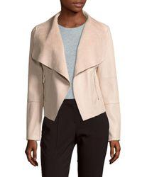 Bagatelle | Multicolor Open Front Faux Leather Jacket | Lyst