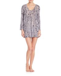 MILLY   Multicolor Chain Print Buzios Tunic   Lyst