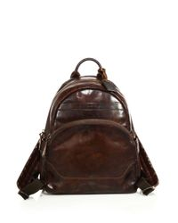Frye - Brown Melissa Leather Backpack - Lyst
