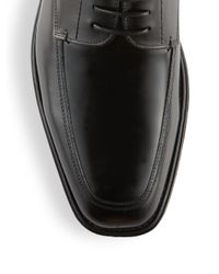 Kenneth Cole Black Lucky Lace-up Oxfords for men