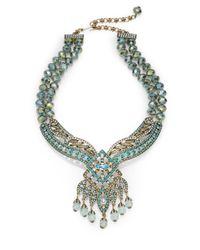 Heidi Daus - Multicolor Spellbound Jeweled Bead Necklace - Lyst