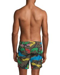 Valentino Multicolored Swim Shorts for men