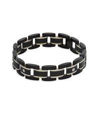 Tateossian Black Germanium Titanium Bracelet