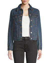 Zadig & Voltaire Blue Cotton Denim Jacket