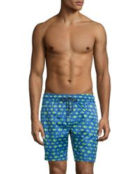 2xist Blue Op Catalina Printed Boardshorts for men
