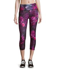 Nanette Lepore - Purple Baroque Printed Pull-on Pants - Lyst