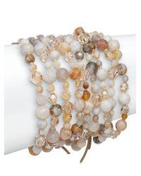 Chan Luu | Multicolor African Opal & Sterling Silver Beaded Bracelet | Lyst