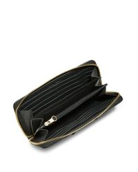 See By Chloé Black Bow Leather Continental Wallet