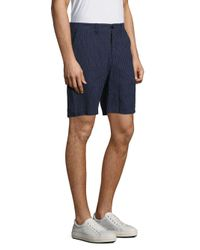 Vilebrequin - Blue Basic Pinstriped Shorts for Men - Lyst