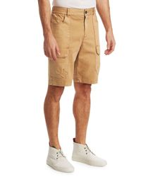 Madison Supply Natural Chino Shorts for men