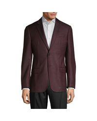 Armani Brown G-line Virgin Wool Sportcoat for men