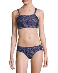 Thorsun - Multicolor Catalina Two-piece Print Swimsuit - Lyst
