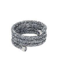 Swarovski Multicolor Crystal Wrap Bracelet