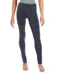 Marc New York - Black Washed Skinny Pants - Lyst